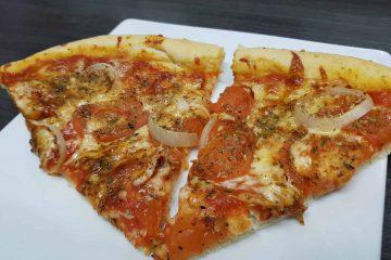 Pizza zum Zunehmen