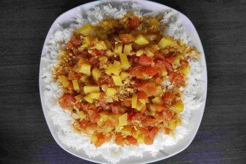 Thunfisch Tomatensoße