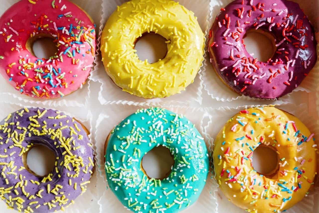 Zunehmen mit Donuts