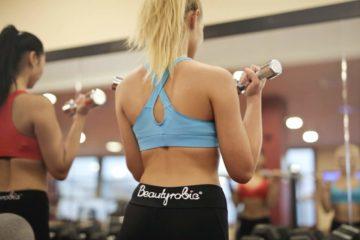 Frauen Muskelaufbau