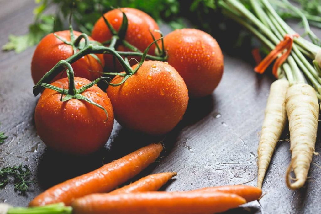 Lebensmittel mit geringer Kaloriendichte