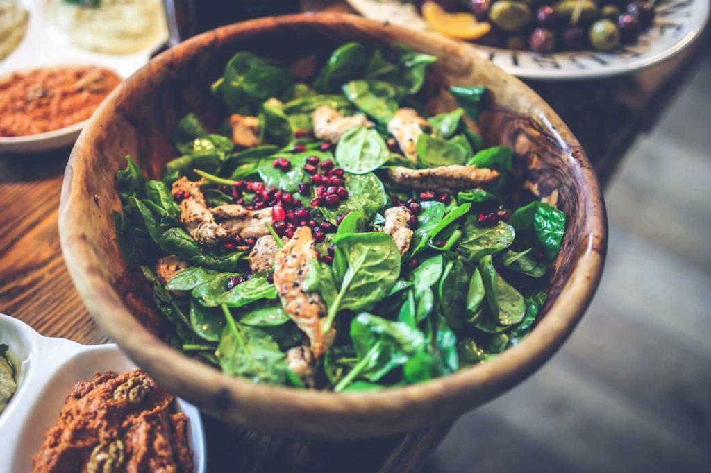 Kalorienarmer Salat